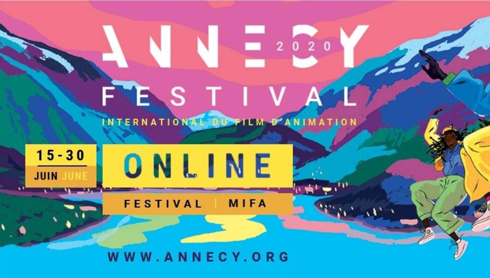 Affiche festival d'Annecy on line