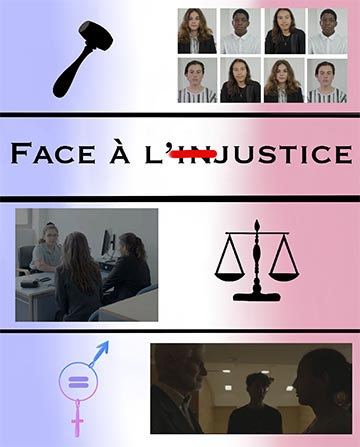 Affiche du court métrage Face à l'injustice