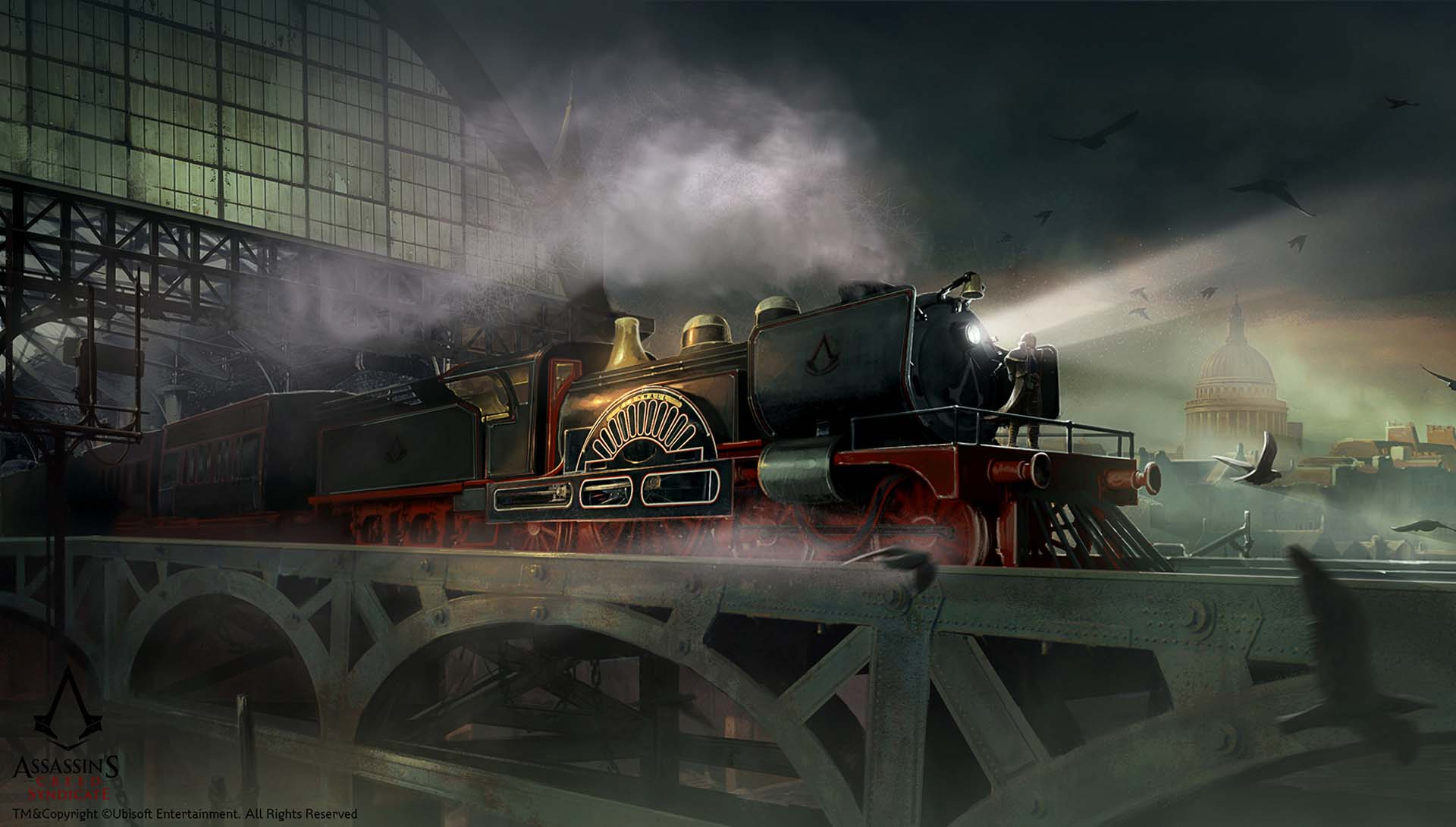 Locomotive d'Assassin's Creed Syndicate - Ubisoft Entertainment