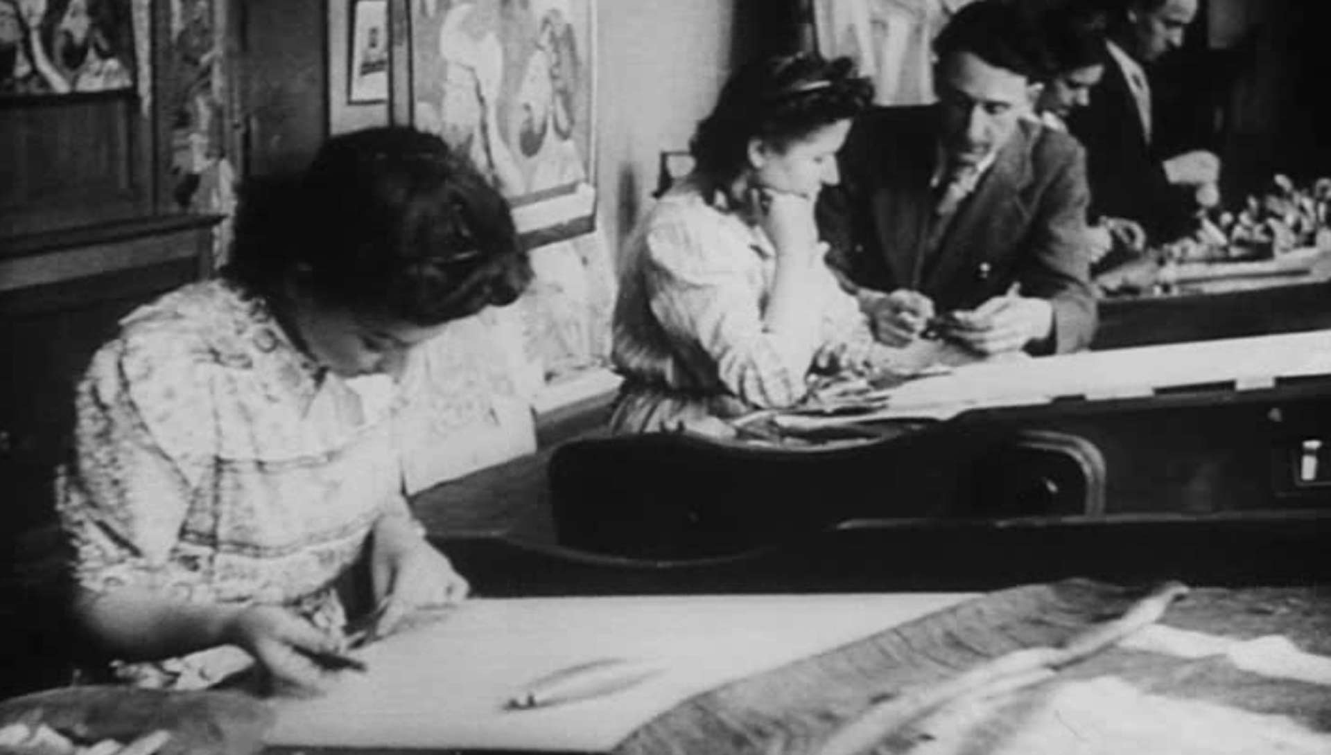 Tapisseries de France, documentaire de Jean Tedesco (1895-1958)