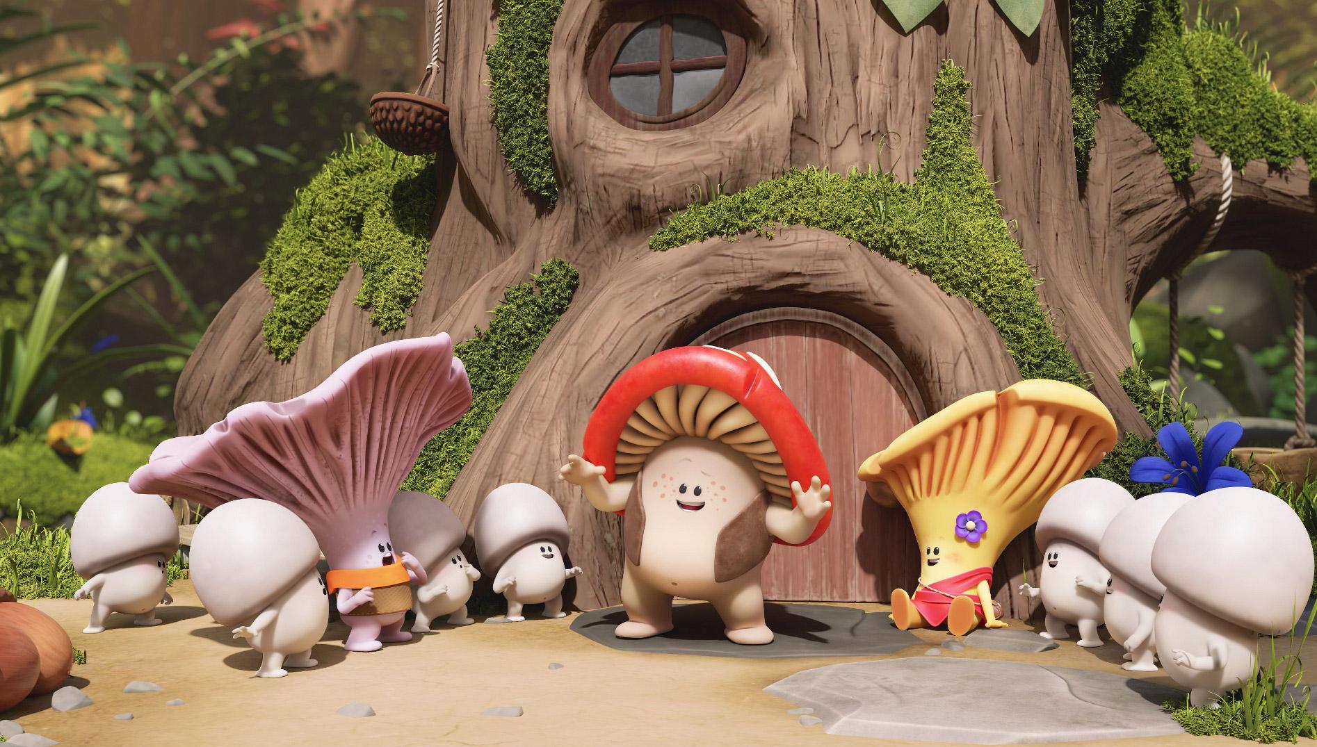 Mush-Mush & les Champotes », une série qui veut « montrer aux enfants que protéger son environnement va de soi »   CNC