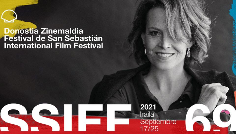Affiche de l'édition 2021 du Festival de San Sebastian