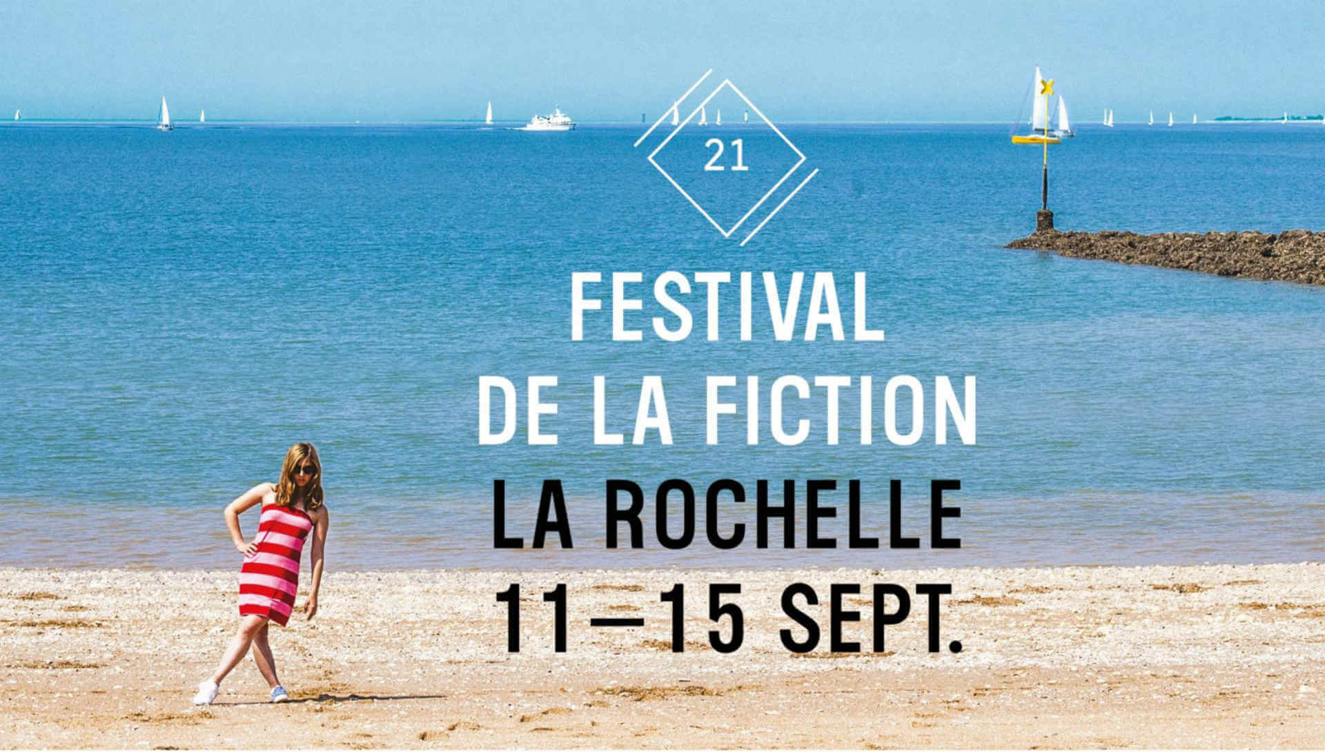 Affiche Festival de la Fiction TV de La Rochelle