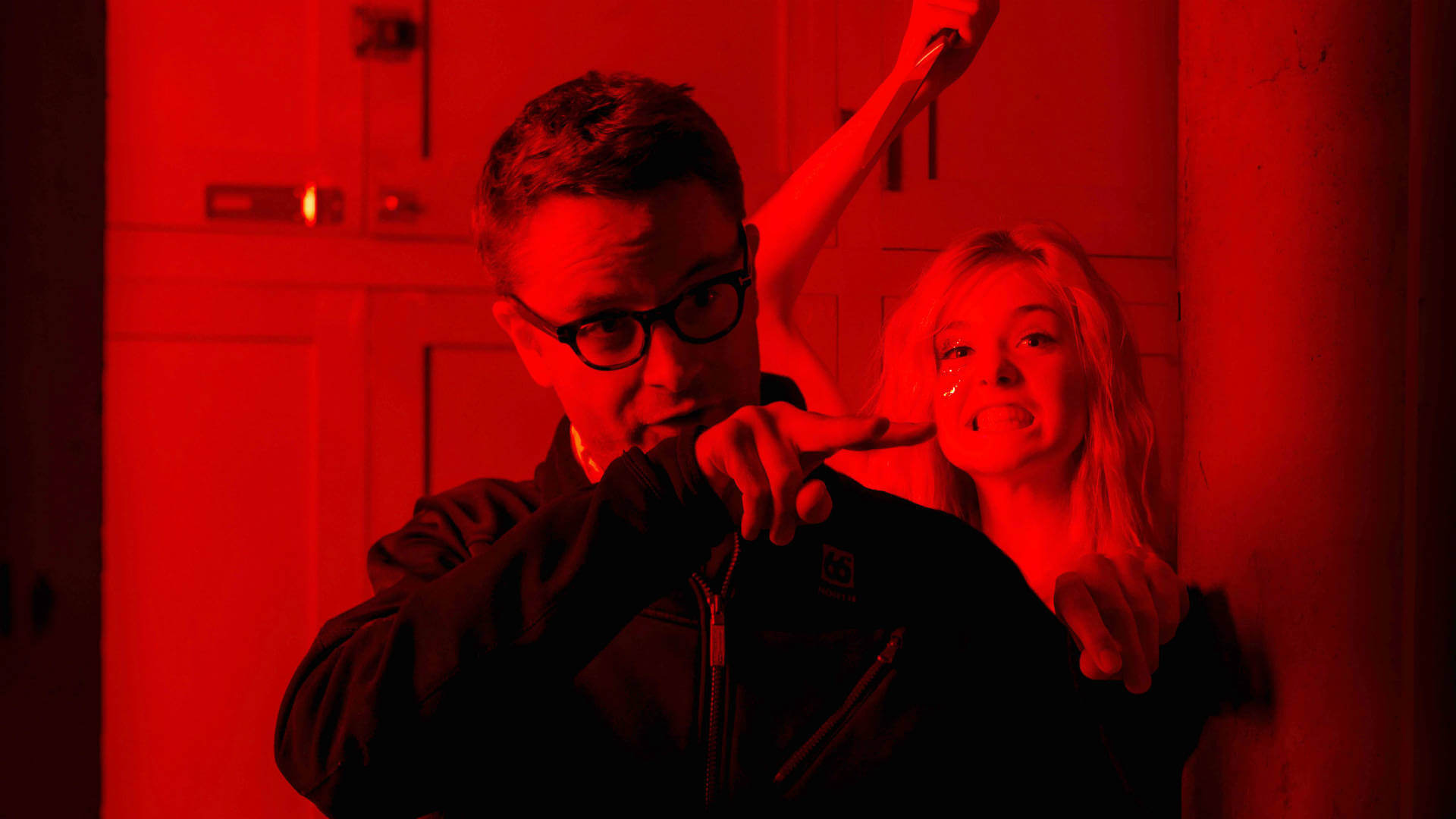 Nicolas Winding Refn sur le tournage de The Neon Demon - Crédit 2016 Space Rocket - Gaumont - Wild Bunch - Gunther Campine