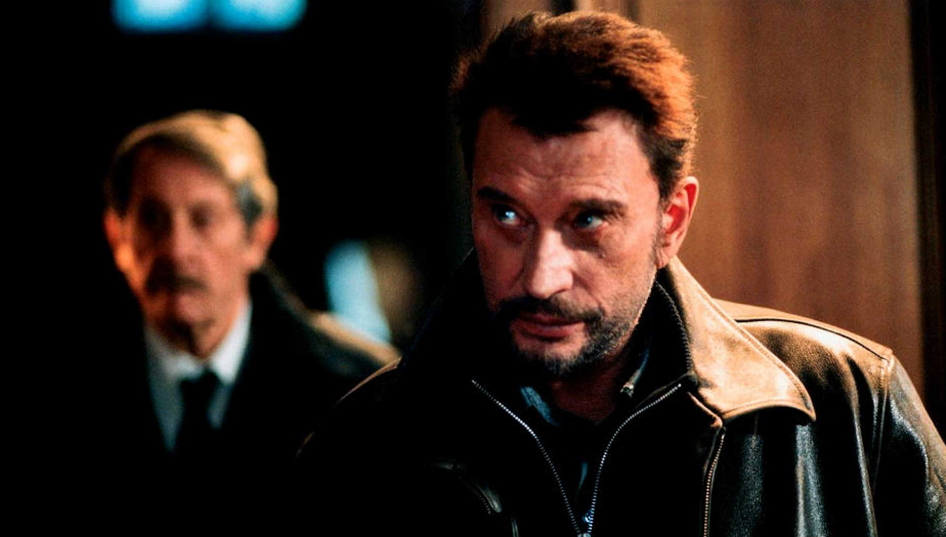 Johnny Hallyday dans L'Homme du train