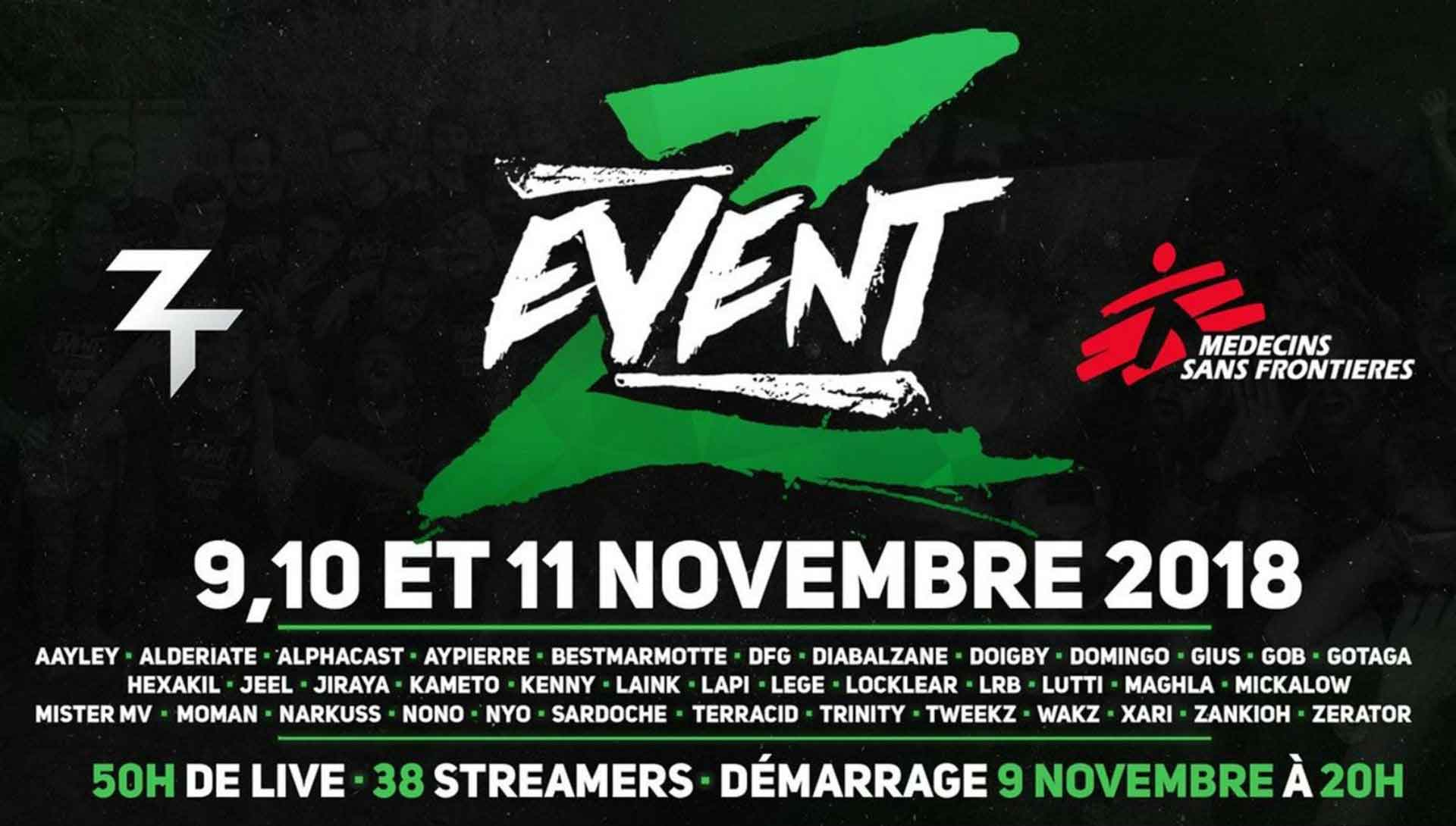 Affiche Z Event
